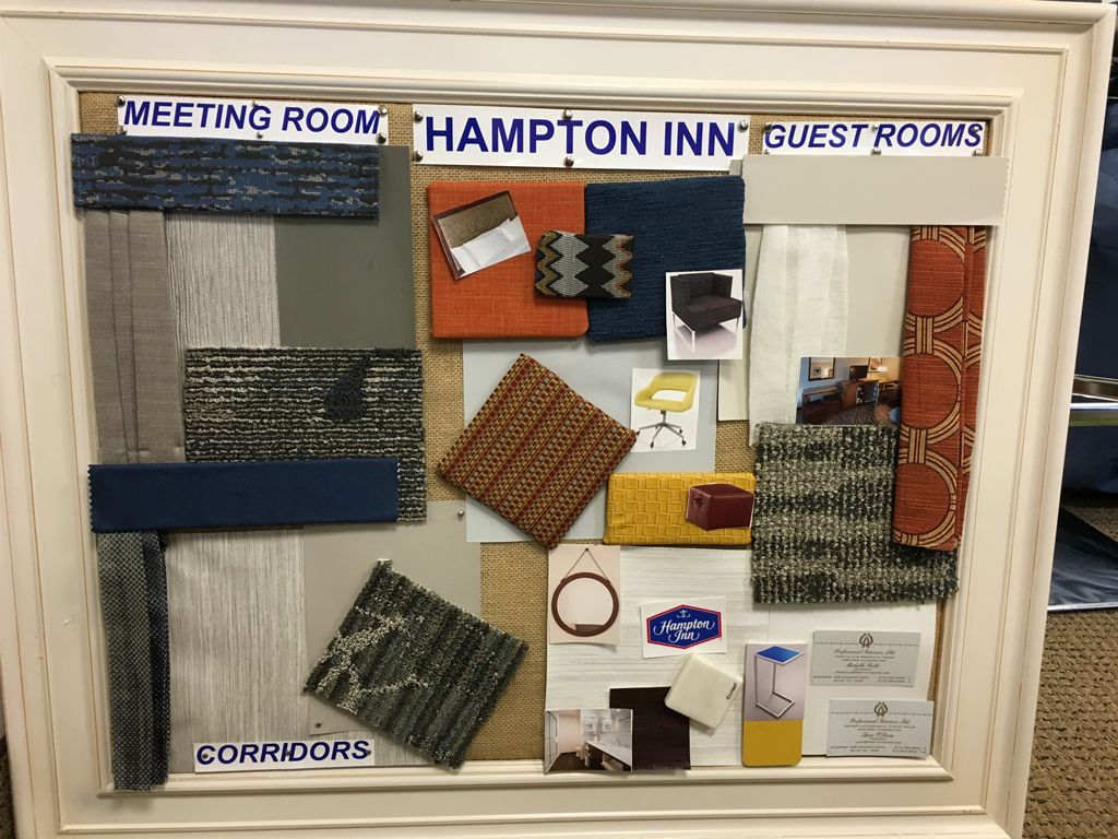 Hampton Inn, Plymouth Meeting PA - Color board