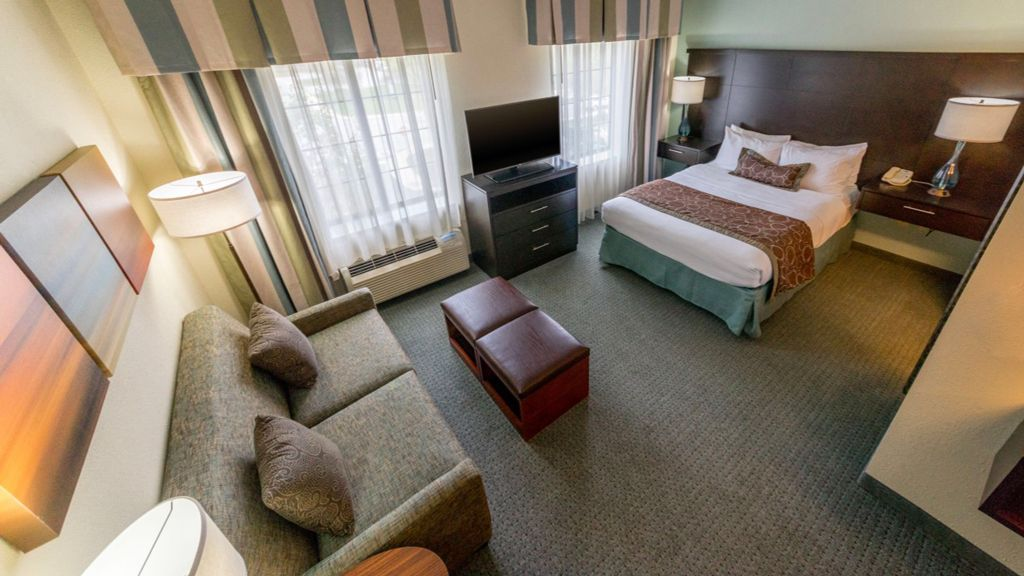 Staybridge Suites, Glen Mills, PA - Guest Room - Chocolate Scheme, renovation