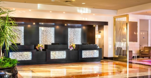 LaGuardia Hotel Plaza, East Elmhurst, NY - Front Desk - Renovation