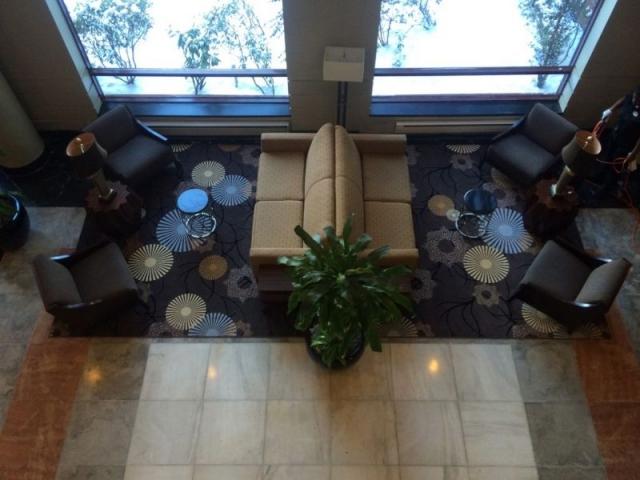 Lobby - LaGuardia Plaza Hotel, East Elmhurst NY - Lobby Renovation
