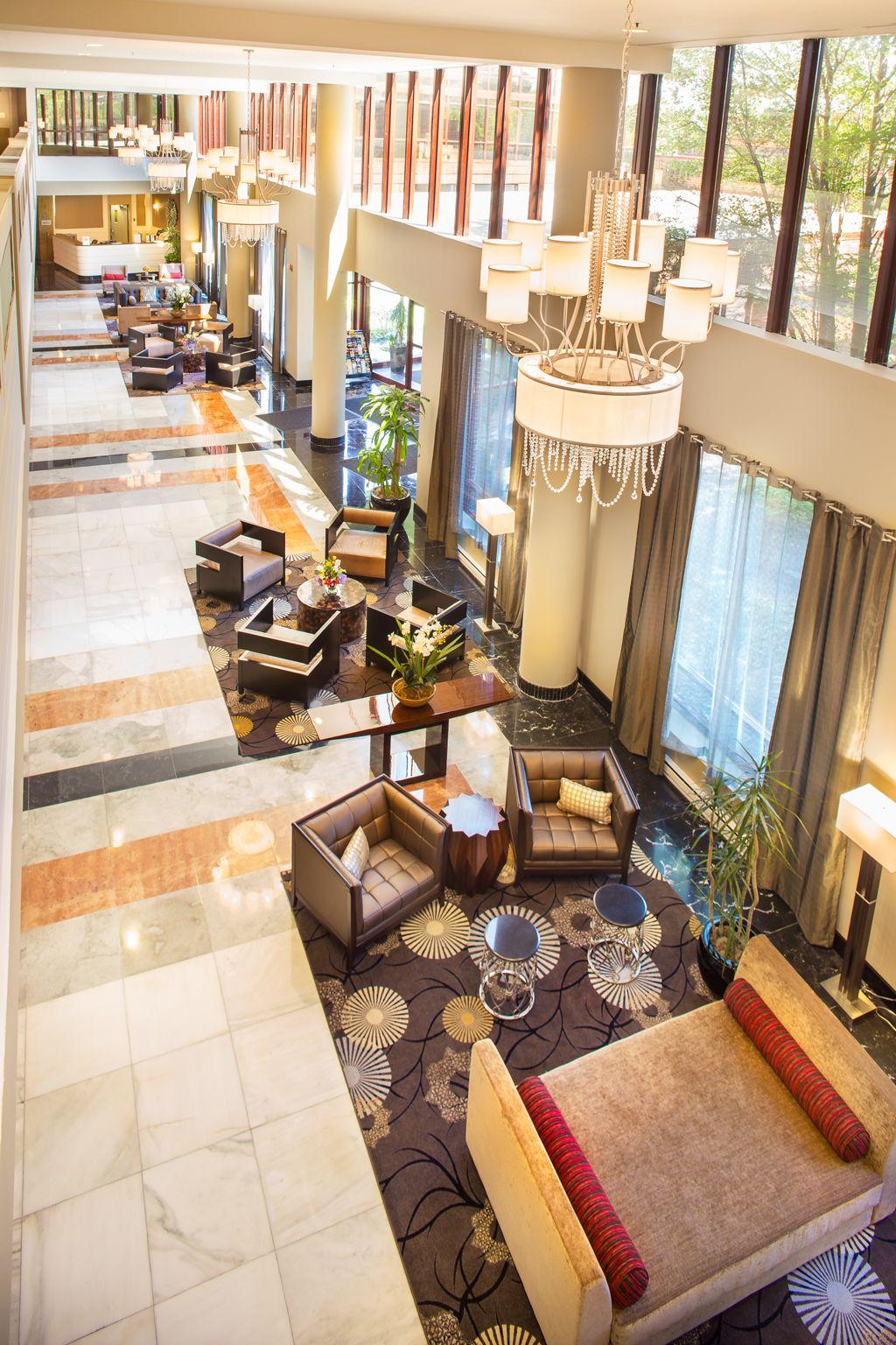 Lobby - LaGuardia Plaza Hotel, East Elmhurst, NY - Lobby Renovation