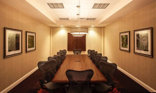 Hilton Garden Inn, Oaks, PA  - Meeting Room, board room, renovation,